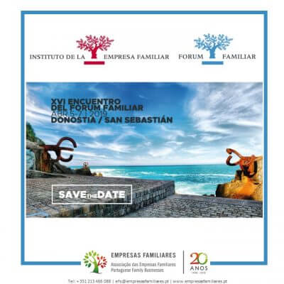 Save the Date                        XVI Encuentro del Fórum Familiar
