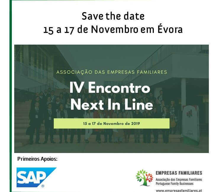 15 a 17 de Novembro | IV Encontro Next In Line | Évora