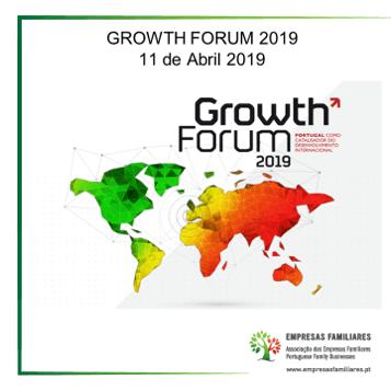11 de Abril | Growth Forum 2019