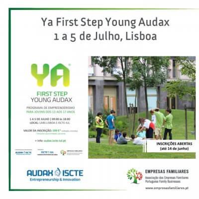 Young Audax - Programa de Empreederismo para jovens dos 13 aos 17