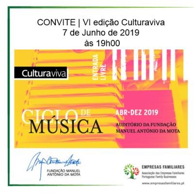 CONVITE | VI edição Culturaviva