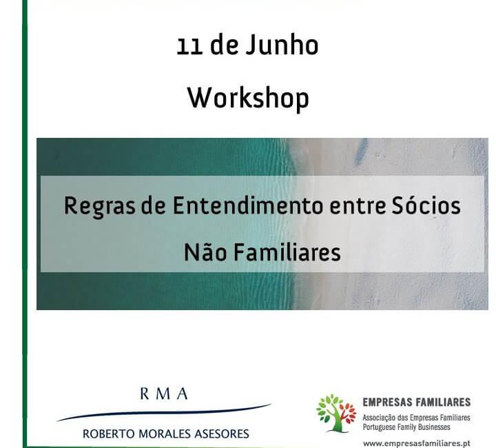"""""""Regras de Entendimento entre Sócios Não Familiares"""""""