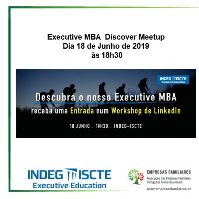Executive MBA Discover Meetup