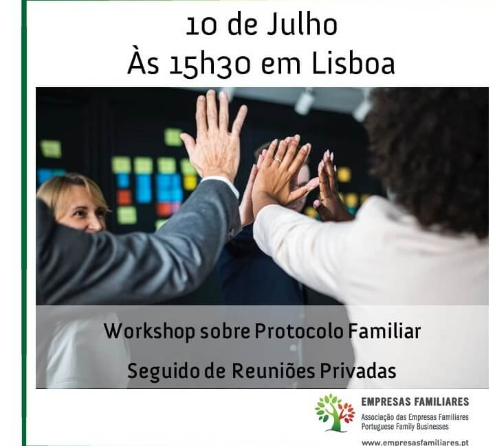 Protocolo Familiar - Workshop + Reuniões Privadas