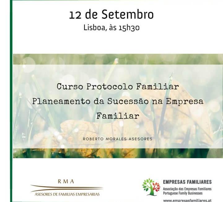 Curso Protocolo Familiar - Planeamento da Sucessão na Empresa Familiar