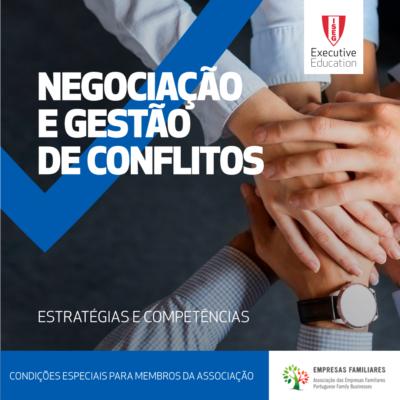 Programa Negociação e Gestão de Conflitos|ISEG