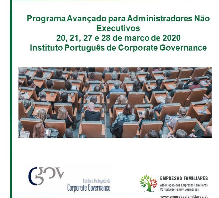 IPCG - Programa Avançado para Administradores Não Executivos