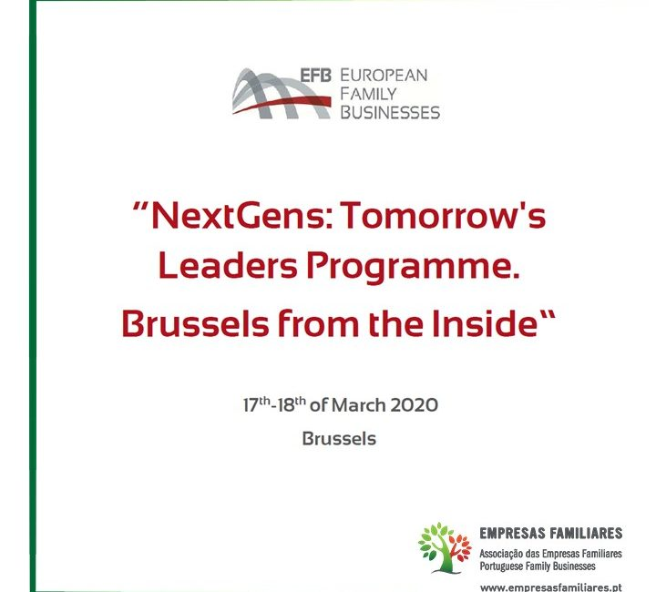 NextGens: Tomorrow's Leaders Programme. Brussels from the Inside