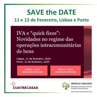 """Cuatrecasas - IVA e """"quick fixes"""": Novidades no regime das operações intracomunitárias de bens"""